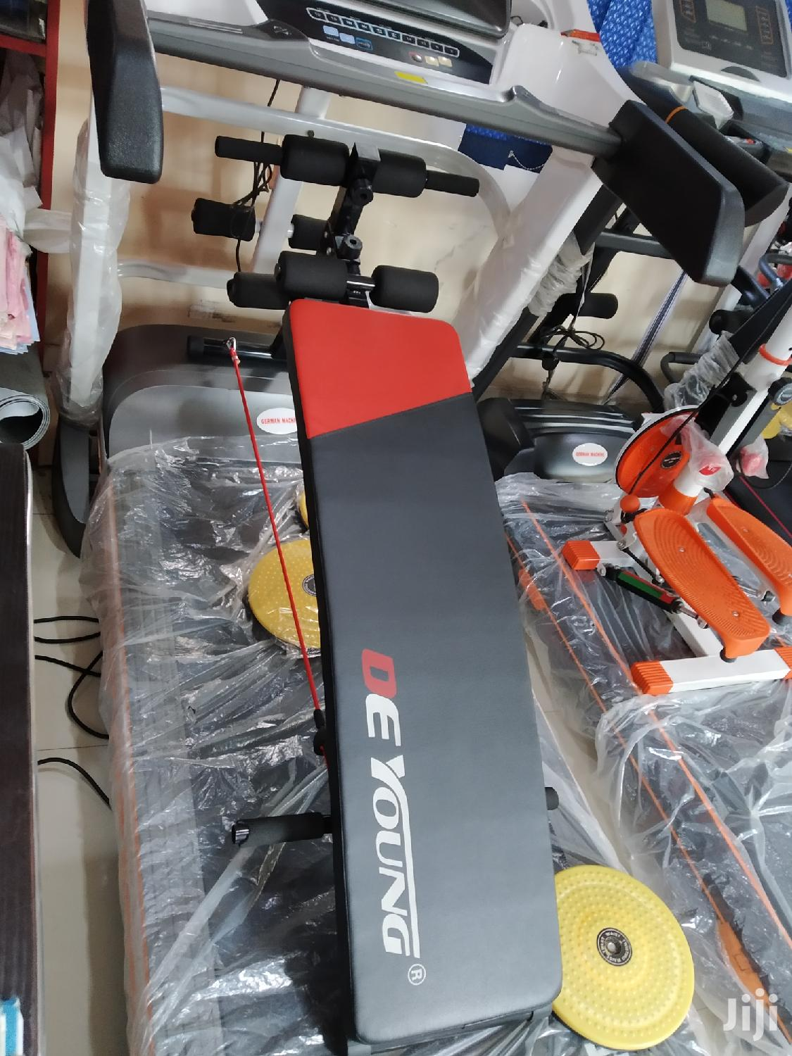 Sit Up Bench Tummy Trimmer | Sports Equipment for sale in Surulere, Lagos State, Nigeria