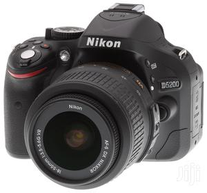Nikon D5200 With 18-55mm Lens (London Used) | Photo & Video Cameras for sale in Lagos State, Ikeja