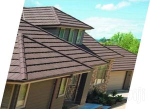 Brown Bond Stone Coated Roofing Tiles Water Gutter | Building Materials for sale in Lagos State, Maryland
