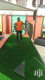 Artificial Grass Installation Ongoing | Garden for sale in Lagos State, Ikorodu