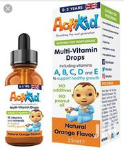 Actikid Multi-vitamin Drops | Baby & Child Care for sale in Lagos State, Gbagada