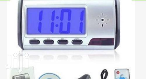 Alarm Clock Spy Camera DVR With Motion Detection BY HIPHEN SOLUTIONS