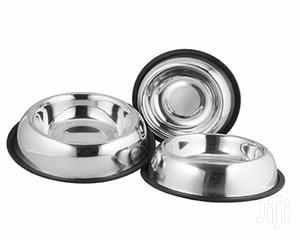 New Arrival! Sliver Universal Dog Bowl for Feeding | Pet's Accessories for sale in Lagos State, Lekki