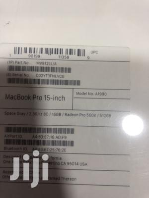 New Laptop Apple MacBook Pro 16GB Intel Core i9 SSD 512GB | Laptops & Computers for sale in Lagos State, Ikeja