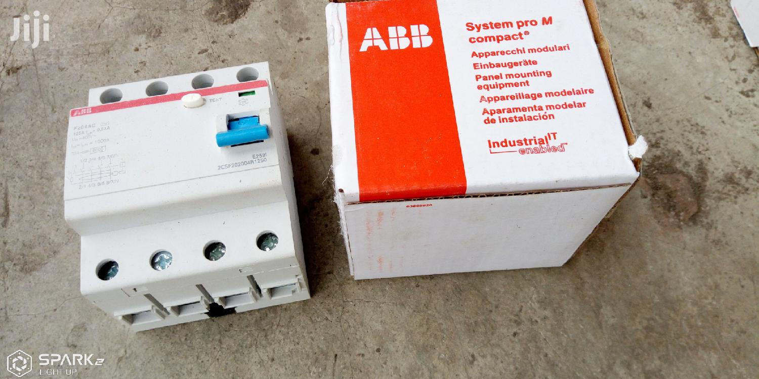 ABB ELCB Circuit Breaker(New Model) | Electrical Equipment for sale in Ojo, Lagos State, Nigeria