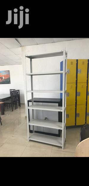 White Colour Brand New Angle Slotted Display Racks | Store Equipment for sale in Lagos State