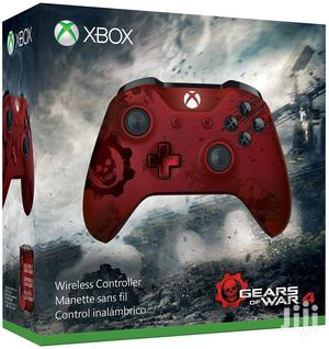Xbox Wireless Controller - Gears Of War 4 Crimson Omen | Accessories & Supplies for Electronics for sale in Lagos State, Ikeja