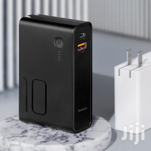 Baseus Travel Charger And Power Bank 10000mah | Accessories for Mobile Phones & Tablets for sale in Ikeja, Lagos State, Nigeria