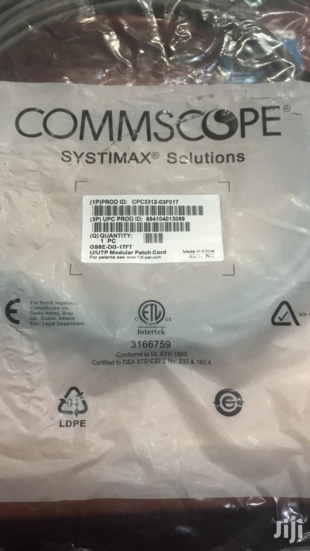 Commscope Patch Cord Cat6 5m