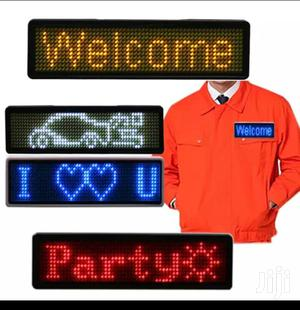 LED Name Tag | Manufacturing Services for sale in Lagos State, Ikeja