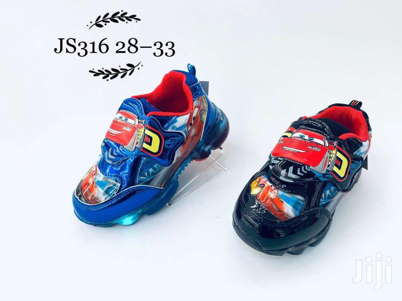 Light Cartoon Character Canvas Sneakers For Boys | Children's Shoes for sale in Lagos Island (Eko), Lagos State, Nigeria