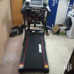 2.5hp German Machine Treadmill With Massager Aerobic Dumbbel   Sports Equipment for sale in Lagos State, Surulere