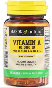 Mason Natural Vitamin A-10,000 IU Softgels From Fish Liver Oil | Vitamins & Supplements for sale in Lagos State, Gbagada