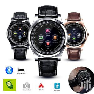 R68 Bluetooth GSM Smartwatch With SIM & Mmory Card Slot | Smart Watches & Trackers for sale in Lagos State, Ikeja