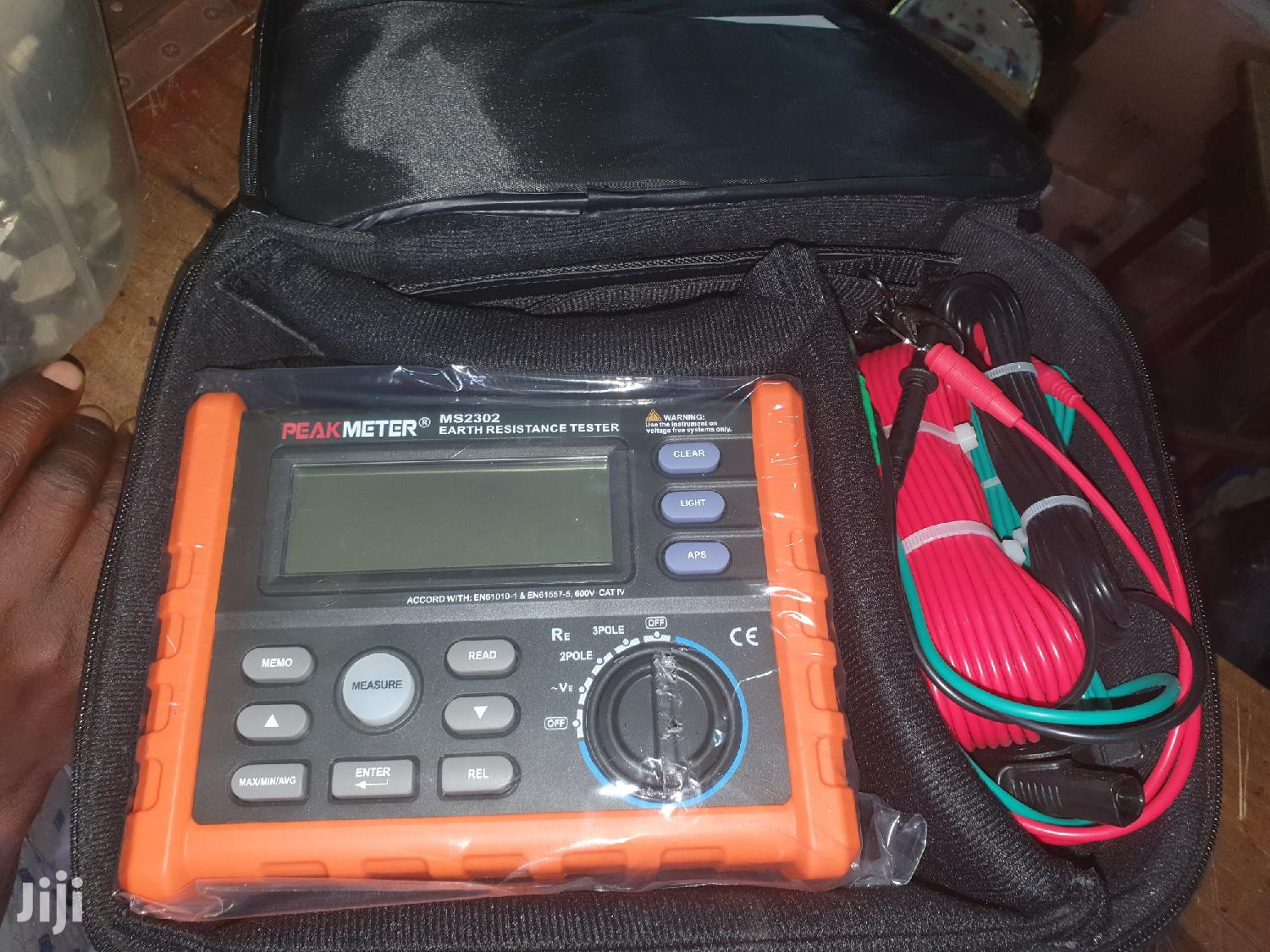 Mastech Digital Earth Resistance Tester | Measuring & Layout Tools for sale in Ojo, Lagos State, Nigeria