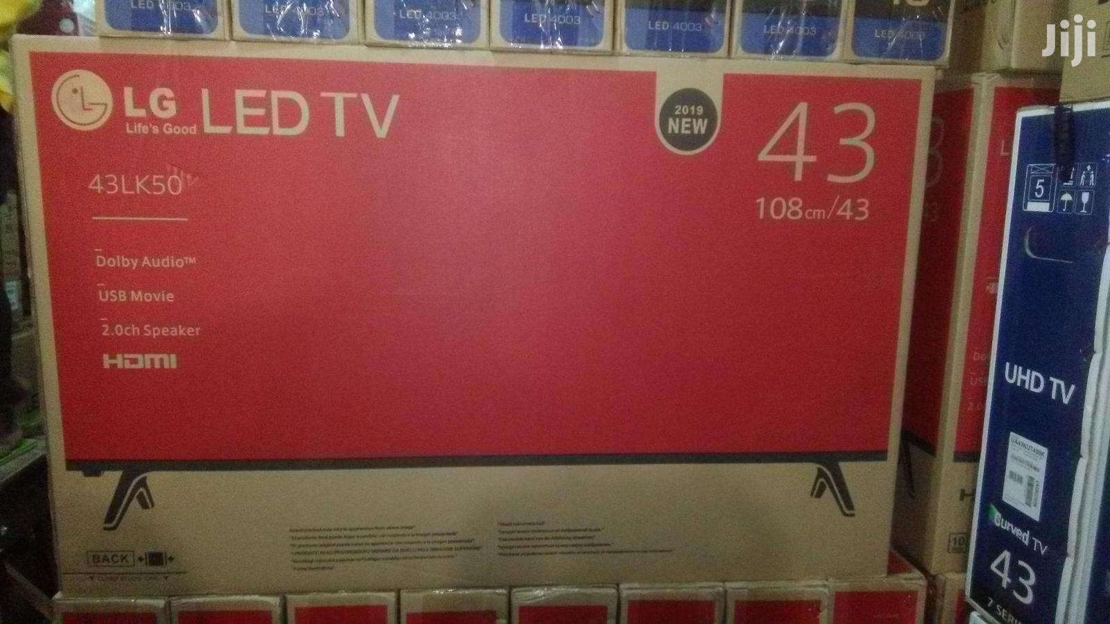 43 Inch LG Full HD LED TV With HDMI And USB Ports