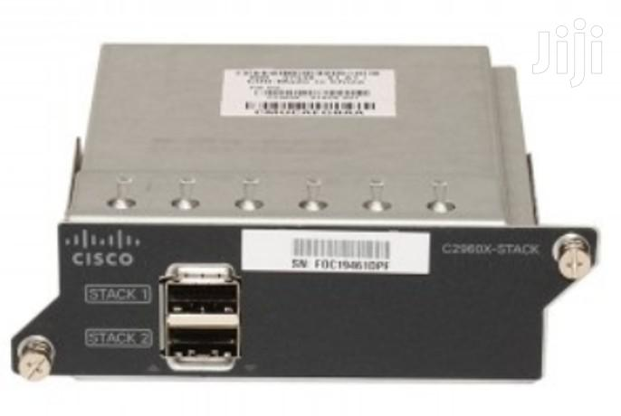 Cisco C2960x-Stack Module
