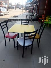 Good Quality Resturant Metal Table With 4 Iron Chairs. | Furniture for sale in Abuja (FCT) State, Gwagwalada