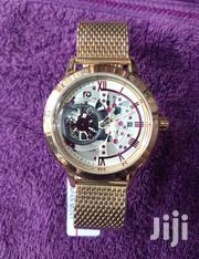 Forecast Mens Gold Chain Wristwatch | Watches for sale in Lagos State, Surulere