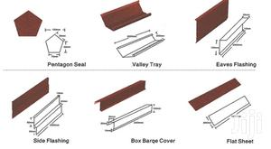 Water Gutter Connector External Internal Stone Coated Roof Accessories | Building & Trades Services for sale in Lagos State, Ilupeju