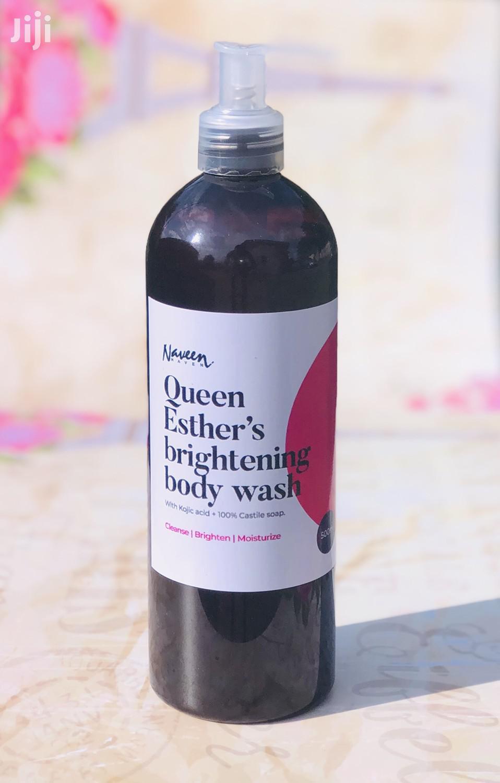 Brightening Body Wash: