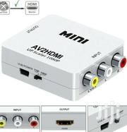 Mini AV to HDMI Converter | Accessories & Supplies for Electronics for sale in Lagos State, Ikeja