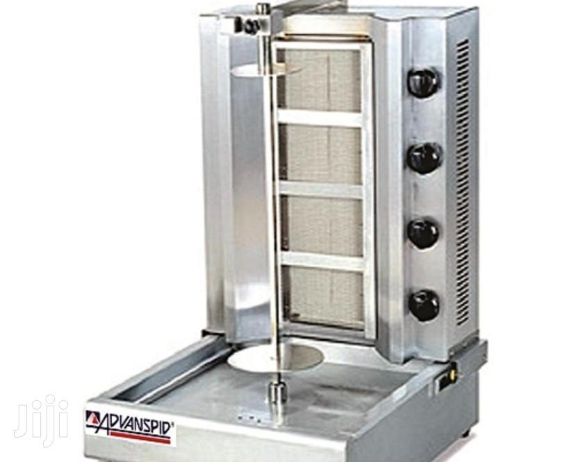 Imported Gas Shawarma Machine 4burner
