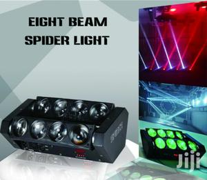 Club Light 8beam Spider Light | Stage Lighting & Effects for sale in Lagos State, Ojo