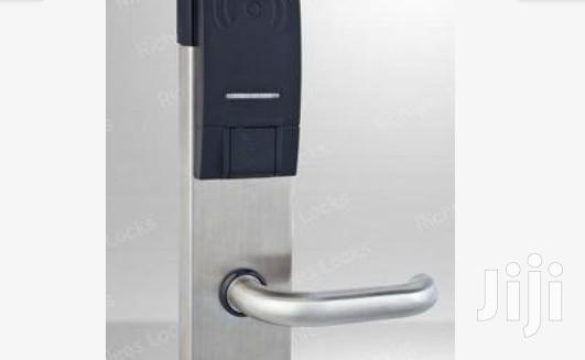 Stainless Steel Electronic Hotel Door Lock BY HIPHEN SOLUTIONS