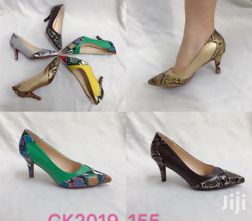 Archive: Multi Coloured Court Shoe