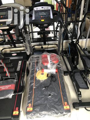 2.5hp Treadmill With Massager | Sports Equipment for sale in Lagos State, Victoria Island