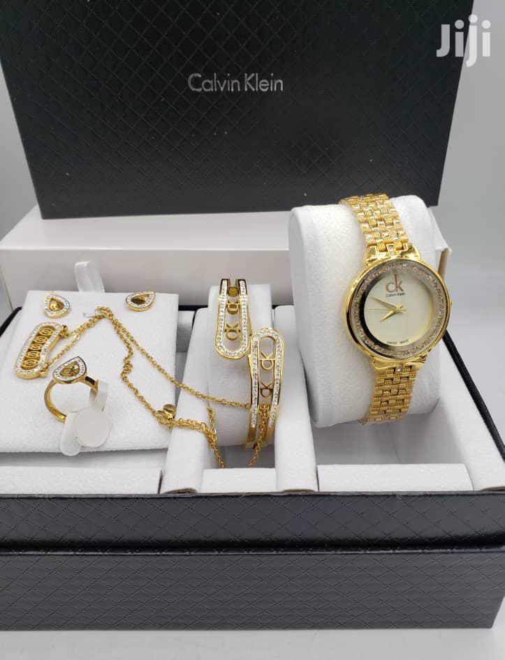 Calvin Klein (CK) Gold Seth Watch for Women's