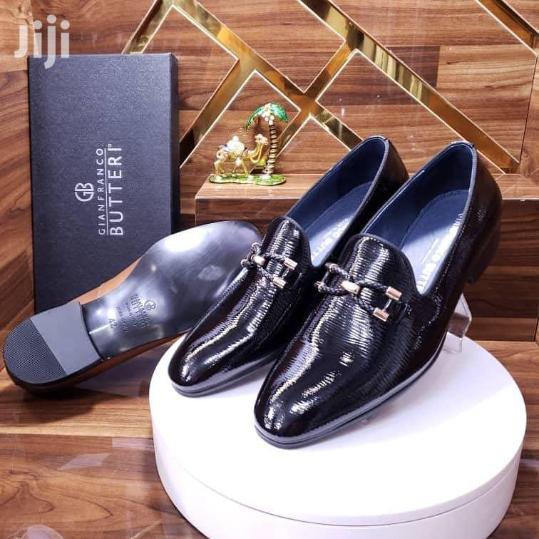 Italian Gianfranco Butteri Pure Leather Men's Shoes