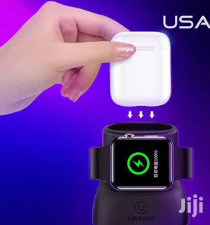 Apple Wireless 2 In 1 Charger For Airpods And Iwatch   Headphones for sale in Lagos State, Ikeja