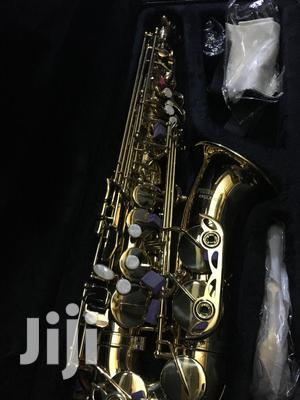 Gold Professional Alto Saxophone | Musical Instruments & Gear for sale in Lagos State, Ojo