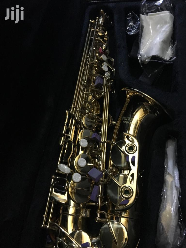 Gold Professional Alto Saxophone