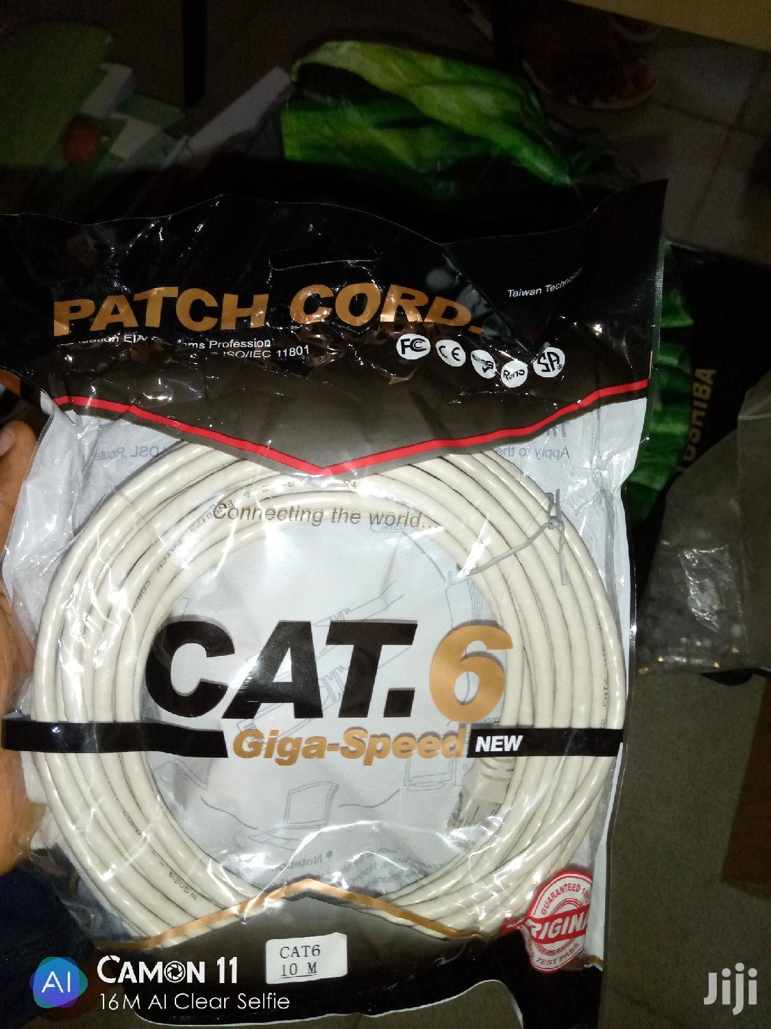 Patch Cables (Patch Cord) | Accessories & Supplies for Electronics for sale in Ikeja, Lagos State, Nigeria