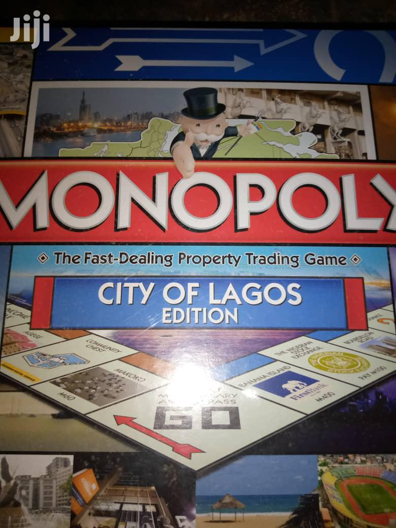Archive: Monopoly Game - Lagos Edition