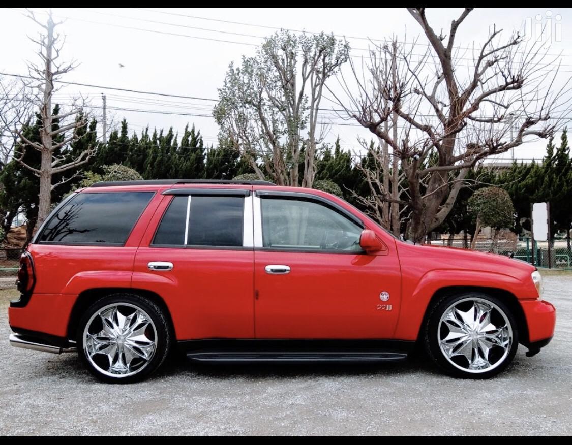 Archive: Chevrolet Trailblazer 2004 Automatic Red