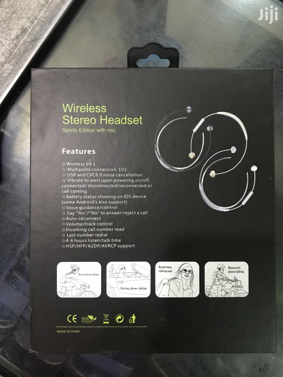 Sport Wireless Headset | Accessories for Mobile Phones & Tablets for sale in Lagos State, Nigeria