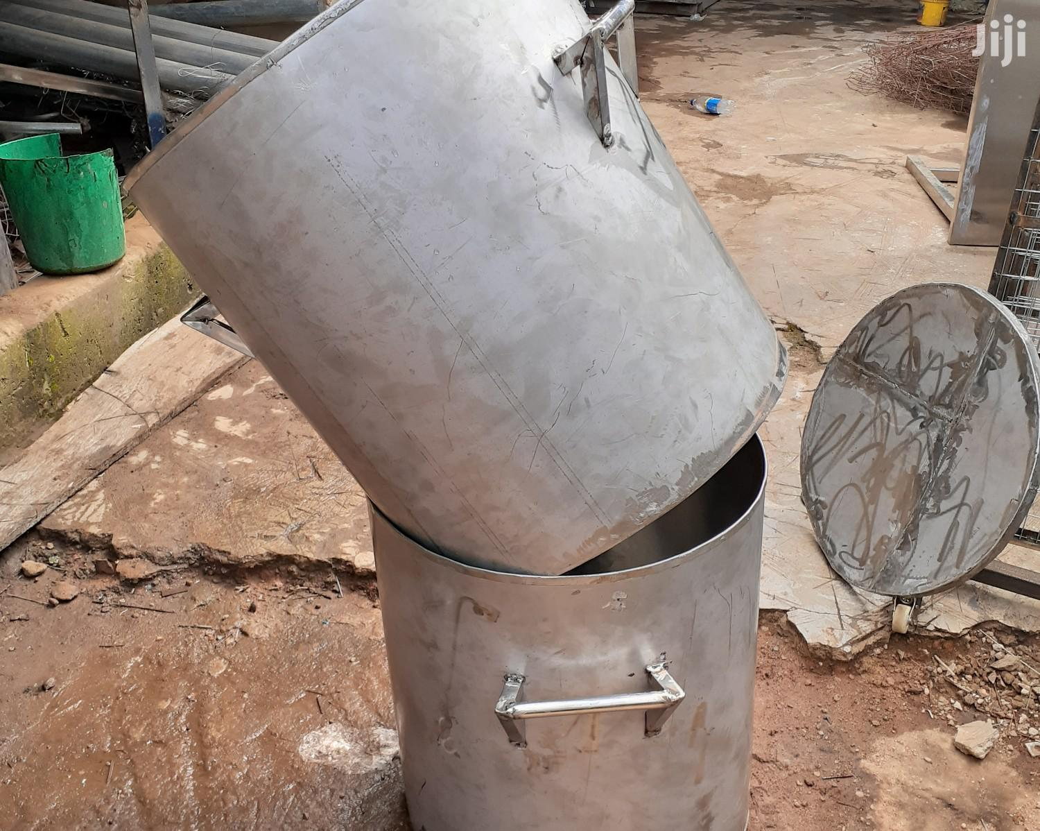 Stainless Bucket / Pot 120ltrs