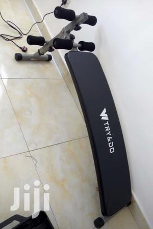 Tummy Trimmer Sit Up Bench | Sports Equipment for sale in Abuja (FCT) State, Lokogoma