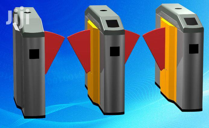 Automatic Turnstile Flap Barrier Gate BY HIPHEN SOLUTIONS LTD
