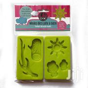 Set Of Two Silicone Moulds With Nature Motif | Kitchen & Dining for sale in Lagos State, Surulere