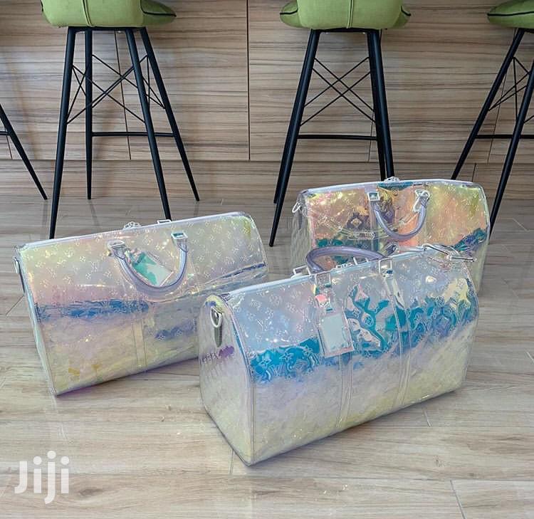 Louis Vuitton Transparent Bag Available As Seen Order Now