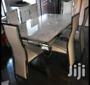 Quality Marble Dining Table With 6 Chair's | Furniture for sale in Abuja (FCT) State, Abaji