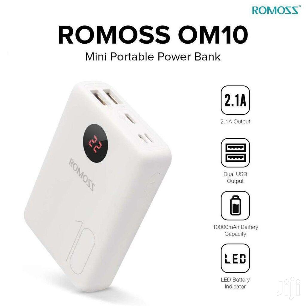 Archive: Romoss OM10 Mini Portable 10000mah Fast Charger Power Bank