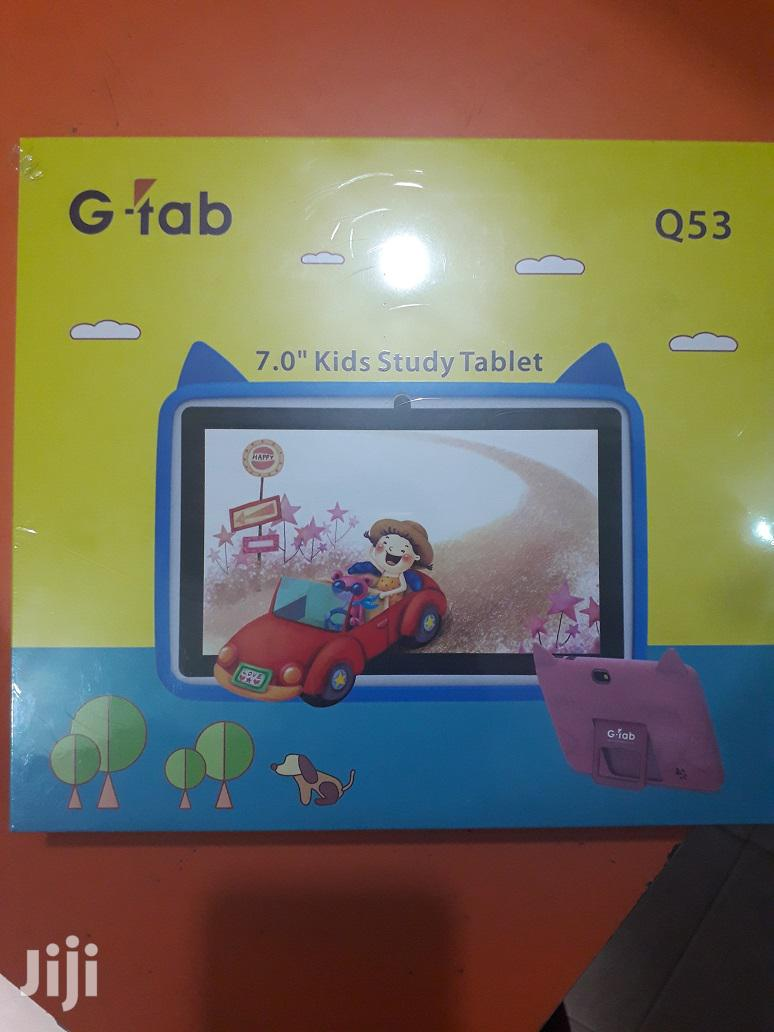 """G-tab Q53 Kids 7.0"""" Android Tablet For Study & Games   Toys for sale in Ikeja, Lagos State, Nigeria"""