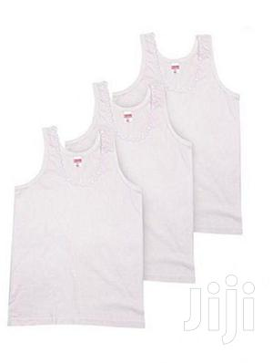 Children Singlet (Girls) - 6 Pieces | Children's Clothing for sale in Lagos State, Lagos Island (Eko)