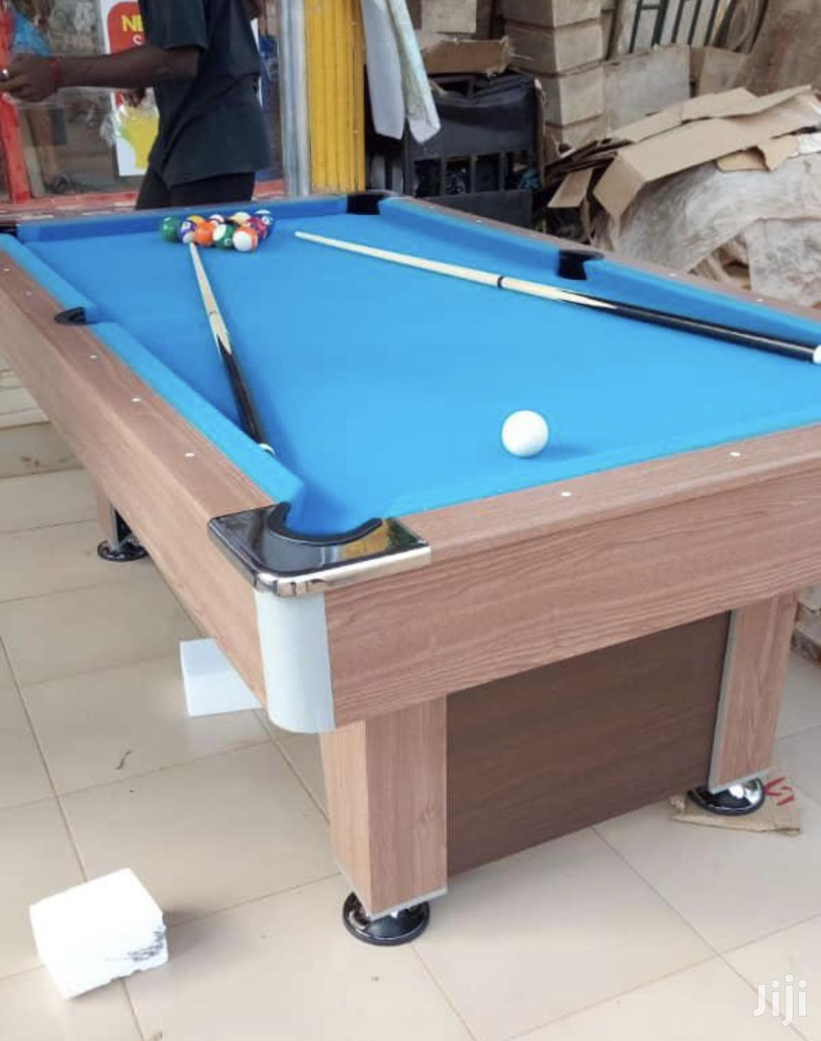 Brand New Snooker Table With Double Accessories